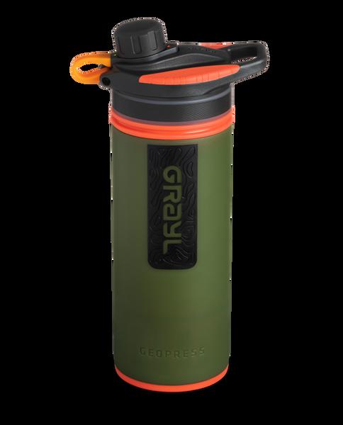 GRAYL 24oz GeoPress Purifier Bottle in Oasis Green