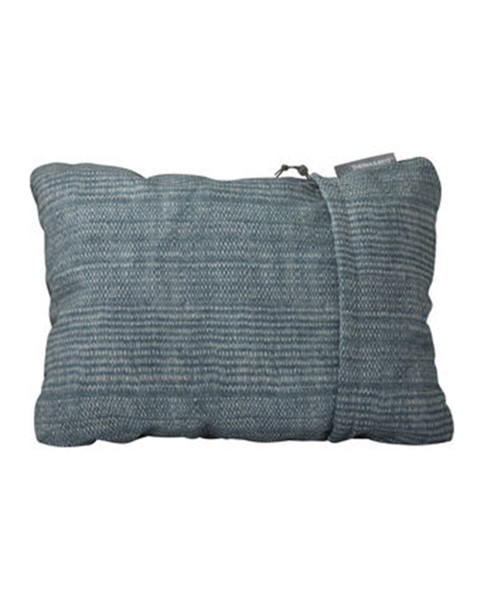 THERMAREST Compressible Pillow, S - Blue Woven Dot Print