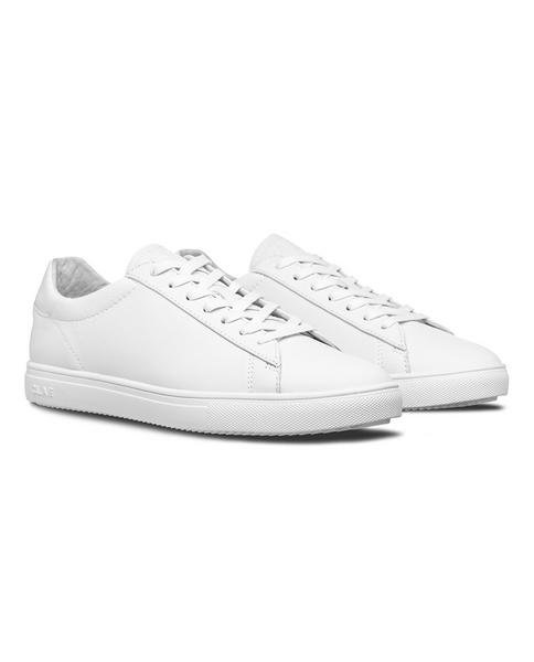 CLAE Unisex Bradley in Triple White Leather