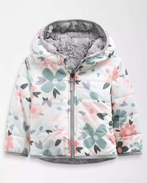 Infant Reversible Mossbud Swirl Fz Hooded Jacket
