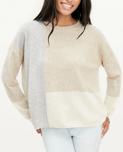 Womens Cashmere Clearback Crew