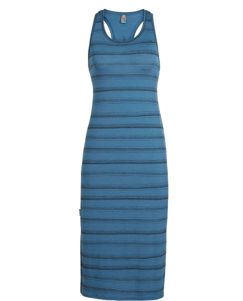 ICEBREAKER Womens Yanni Tank Midi Dress