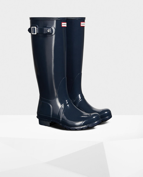 HUNTER BOOTS Womens Iconic Glossy