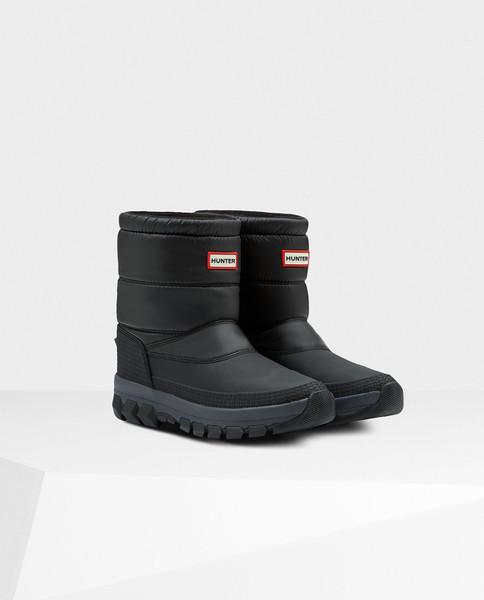 HUNTER BOOTS Womens Original Insulated Snow Boot Short