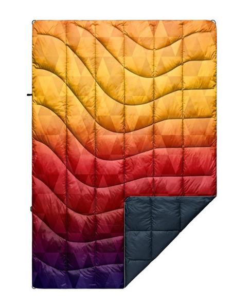 Rumpl Printed Down Blanket - Pyro Tri Fade - 1P