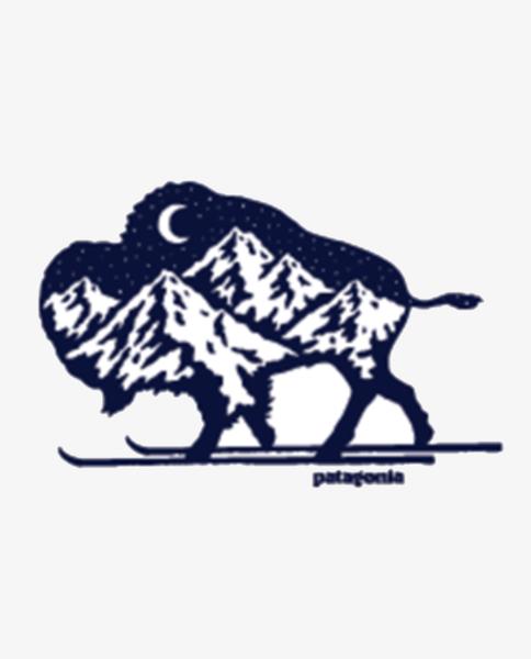 Nordic Bison Sticker