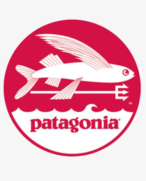 Trident Fish Sticker