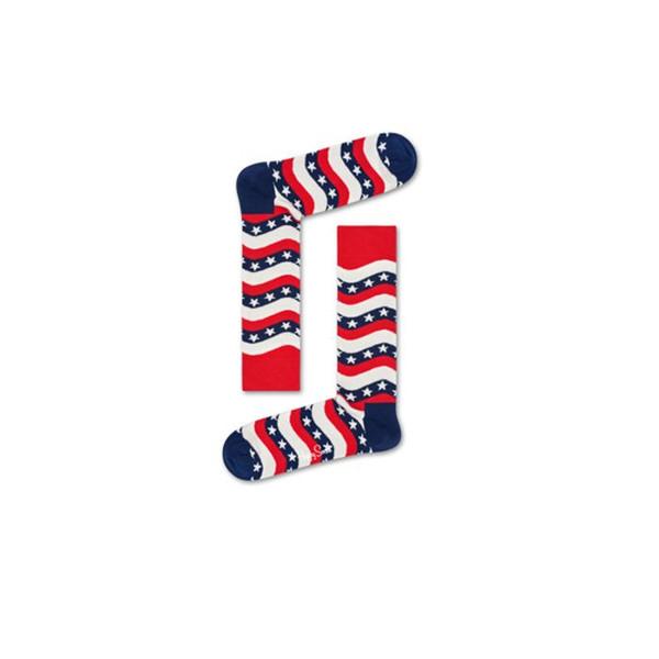 Wavy Stripe Sock