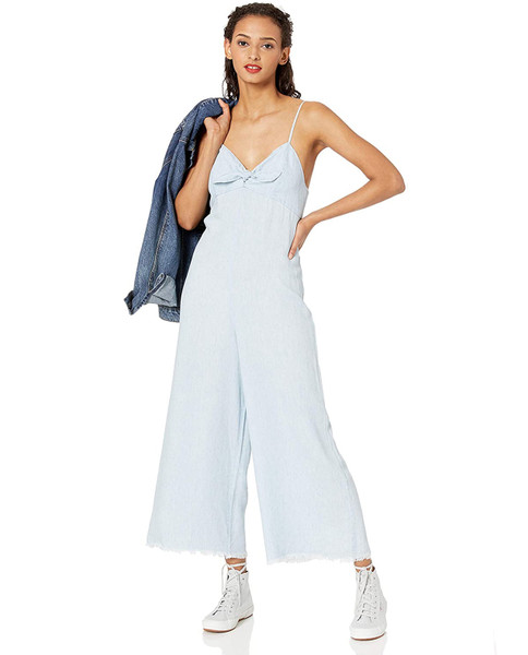 SHOW ME YOUR MUMU Paolo Chambray Jumpsuit