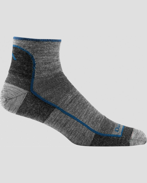 Mens Merino Wool 1/4 Sock Mesh