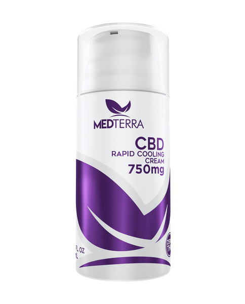 MEDTERRA CBD Topical Cooling Cream - 750mg