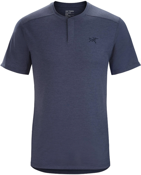 Mens Kedem Henley Short Sleeve