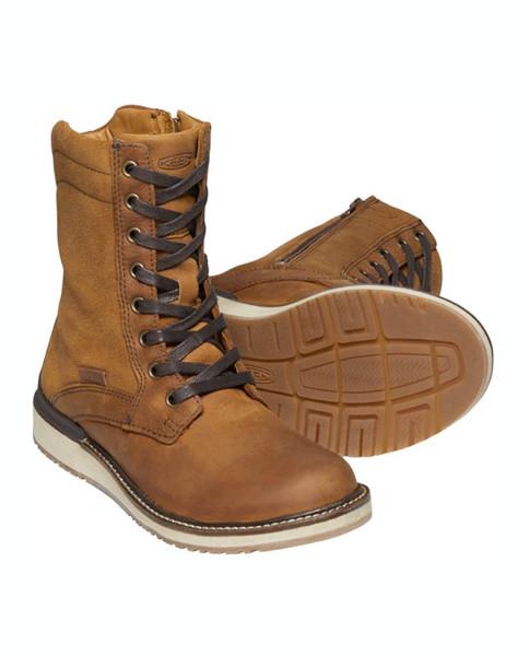 KEEN Women's Bailey Lace Boot - COGNAC