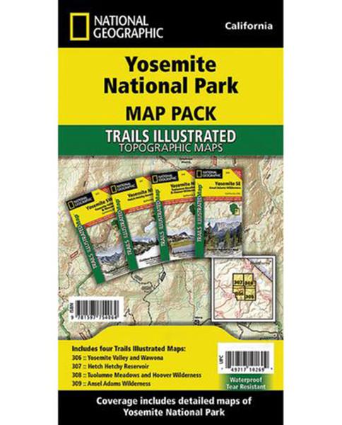 NATIONAL GEO MAPS Yosemite National Park Pack Bundle