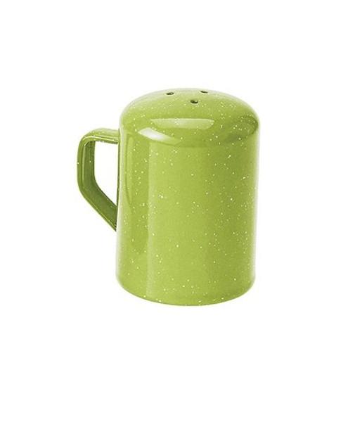 Enamel Pepper Shaker Green