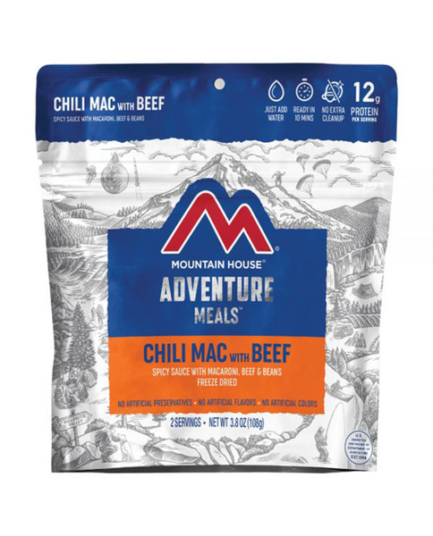 LIBERTY MOUNTAIN Mountain House Chili Mac with Beef Clean