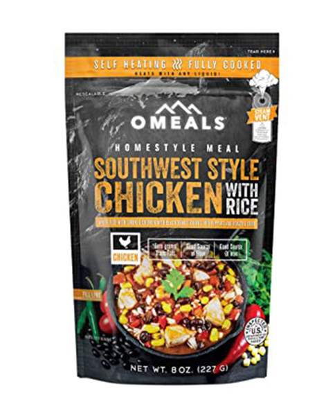 Omeals South West Chicken w/ Rice
