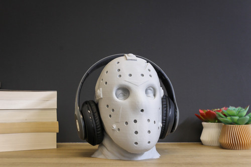 Jason Voorhees Headphone Stand   Friday the 13th