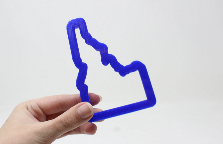 Idaho State Cookie Cutter
