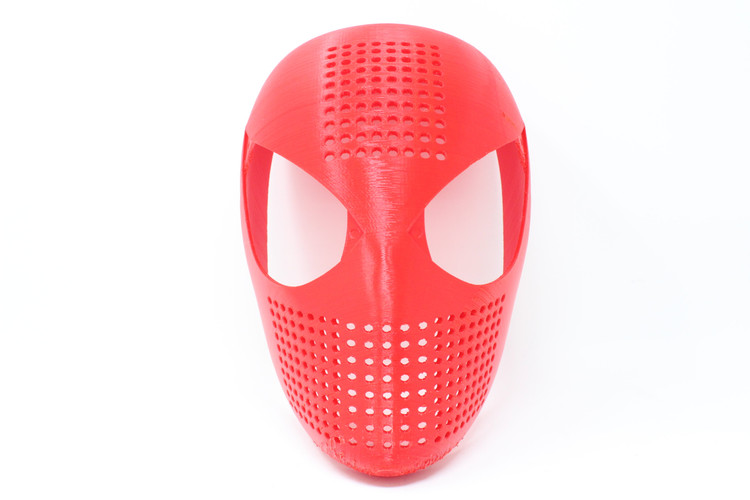 Spiderman Cosplay Face Shell