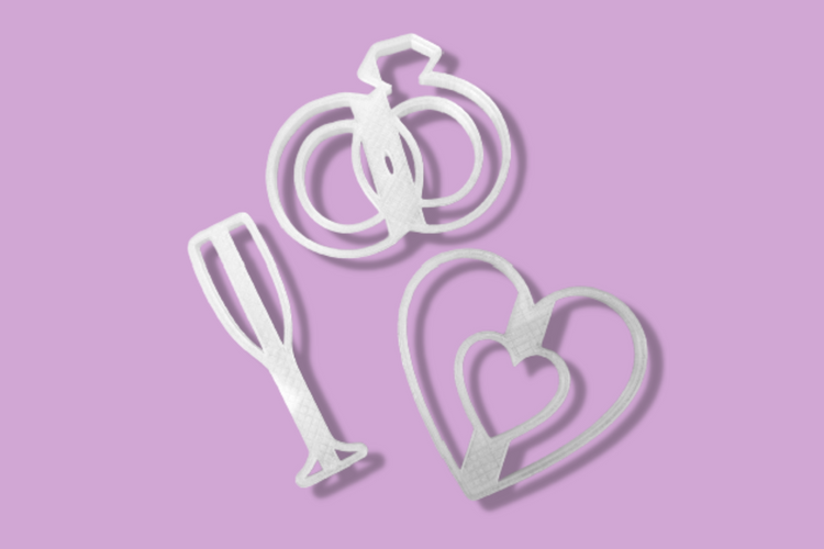 Engagement Party | Cookie Cutter Set