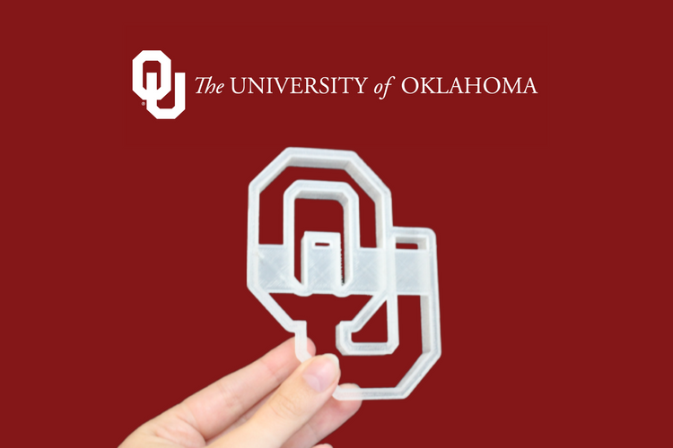 University of Oklahoma Cookie Cutter