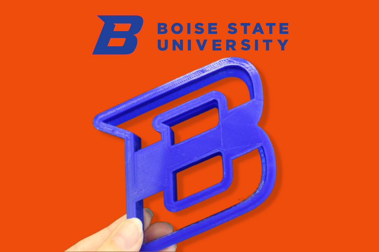 Boise State Cookie Cutter Set