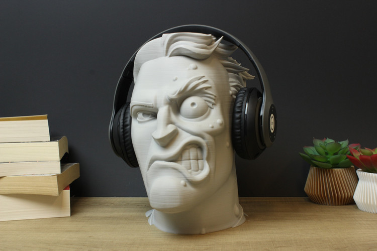 Two-Face Headphone Stand