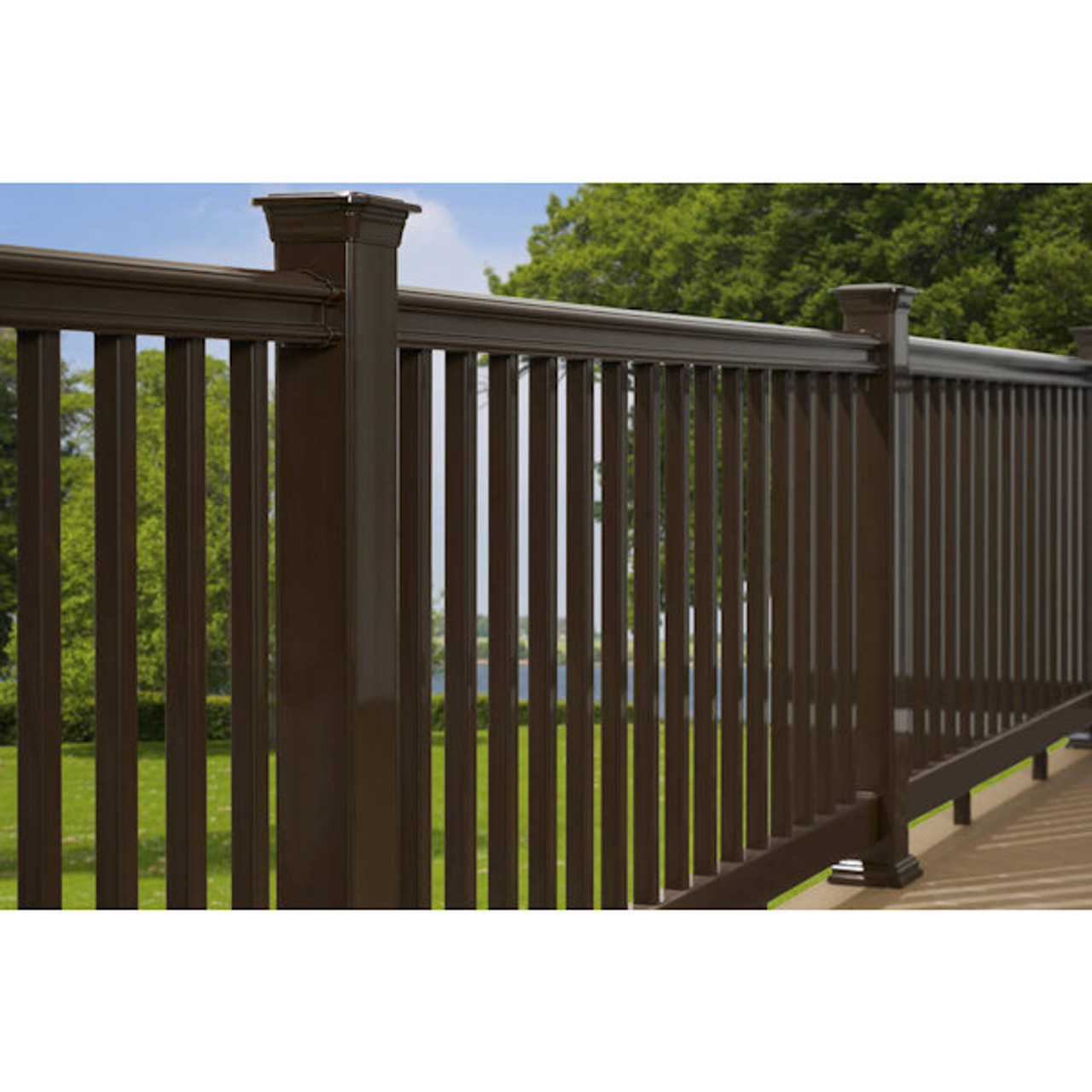 Common Actual, Composite Deck Baluster  - 1.25-in x 33.5-in 60 PK.- NEW