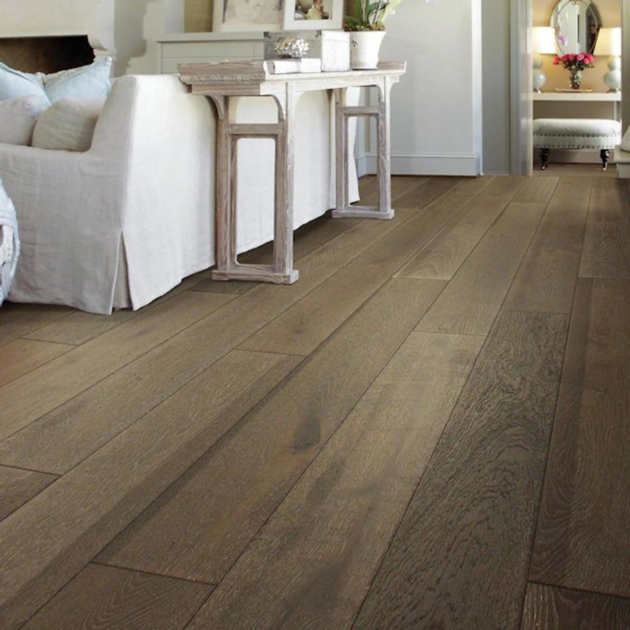 Shaw Grayson Oak 7 48 In Bell Tower Oak Engineered Hardwood Flooring 31 09 Sq Ft