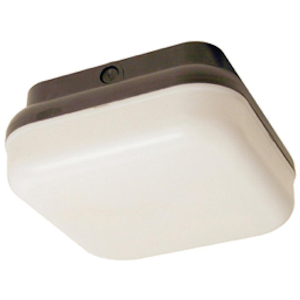 Liteco -L23219 Lighting - 13w 2-Light Ceiling Fixture White / Black