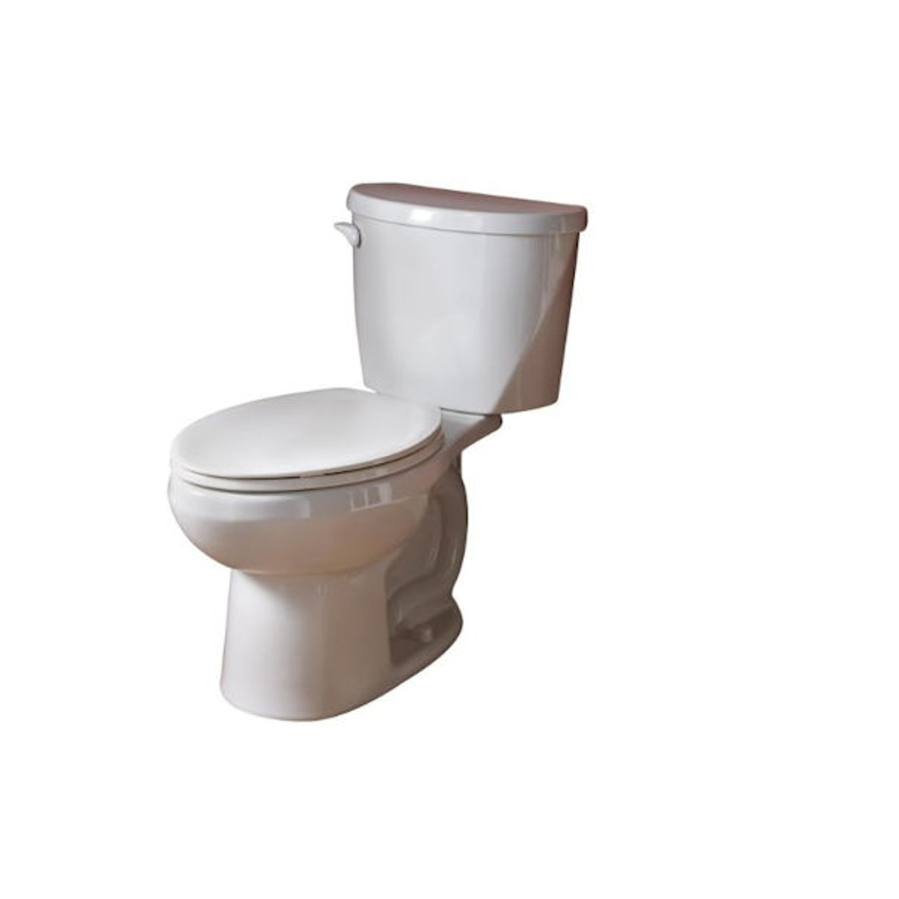 American Evolution 2Right Height Elongated TwoPiece Flowise1.28 gpf Toilet White