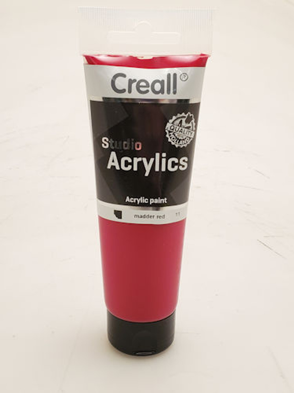 Creall Studio Acrylics, Acrylic Paint 120 ml, 11 Madder Red
