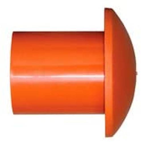 ( Bag of 25-Pack )  #3 to #11 Plastic Orange Rebar Safety Caps