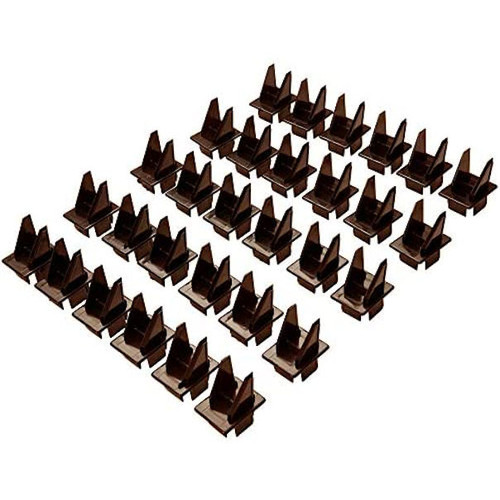Fiberon 30-Pack Brown Stair Square Baluster Stair # 717890