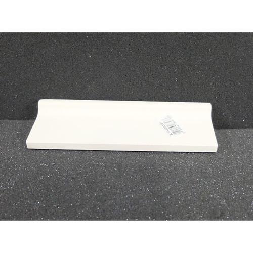American Olean SL11A4200CCBP 2 in X 6 in Surface Bullnose Ceramic Tile Biscuit