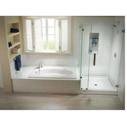 Jacuzzi J4D6042BUXXXXW 60-Inch x 42-Inch Bathtub with Universal Left Hand Drain