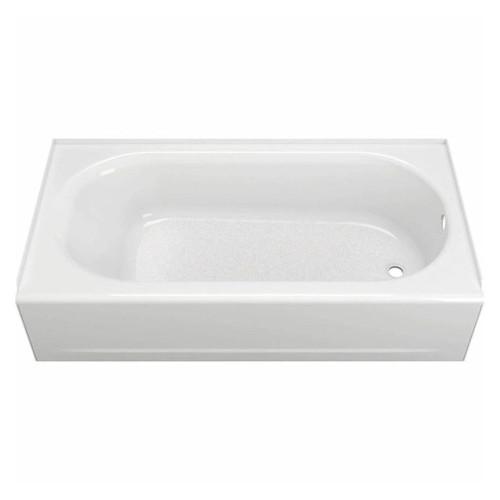 American  2391202.020 Princeton 60 in. x 30 in.Apron-Front Bathtub R- Hand Drain