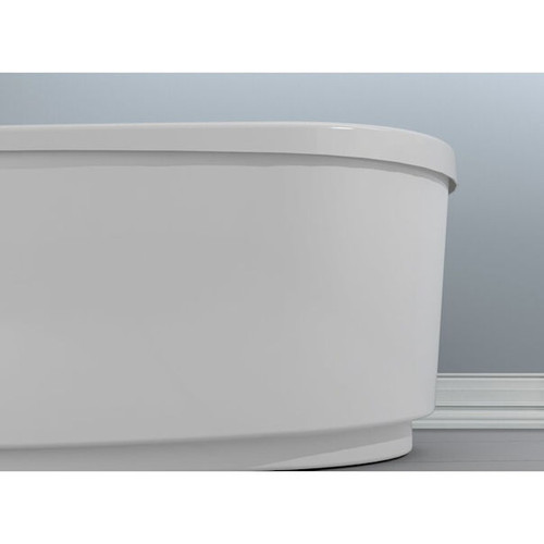 JACUZZI  66 x 36 in. Soaker Drop-In Bathtub with Center Drain (New Brown Box)