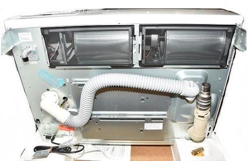 Rheem EX38CTWN 38,400 BTU Natural Gas Direct Vent Wall - White Furnace