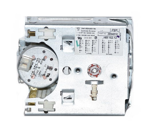 Whirlpool 3954810 Laundry Washer Timer Part in Silver, Brand New