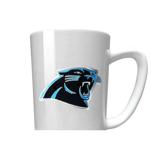 NFL Carolina Panthers 15 oz Jump Mug with Silicone Grip
