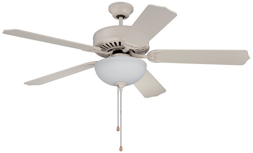 "Craftmade C201W Pro Builder 52"" Ceiling Fan Light Kit"