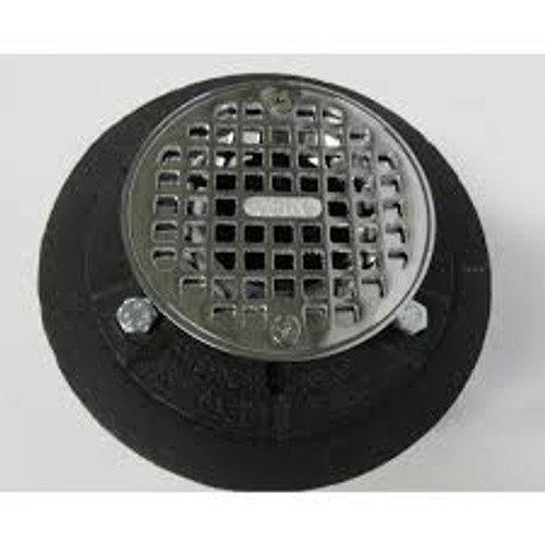 "AB&A ABA5208 Shower Drain CI SS Grate 2""NH"