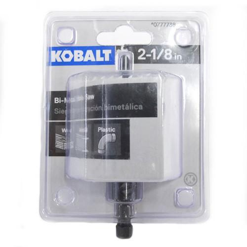 Kobalt 2-1/8-in Bi-Metal Arbored Hole Saw
