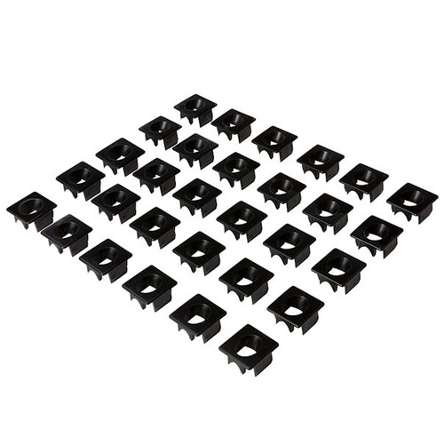 Fiberon 16005 Black Stair Inserts for Round Balusters - Step 3, 270 Pack