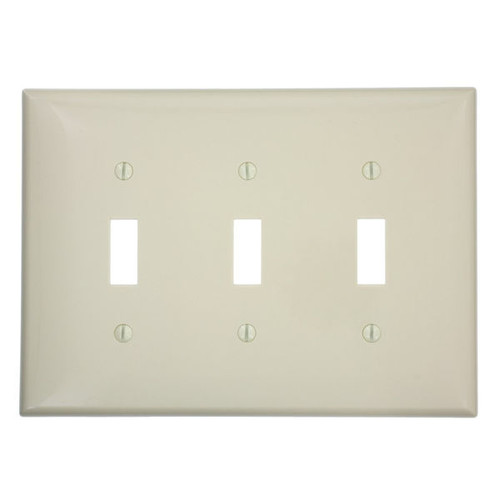 25 New Leviton White MIDWAY 2-Gang Switch Cover Wall Plates Switchplates 80509-W