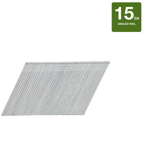 Bostitch 2-1/2-in 15-Gauge Galvanized Steel Finish Nails, (10,000 Count) NEW