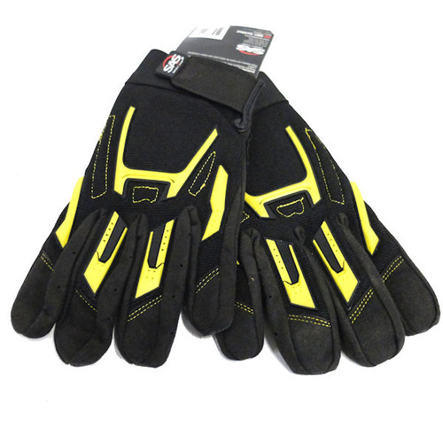 SAS Safety Resistant Grip Palm Gloves in Black - M