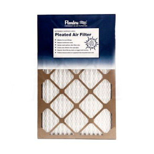 70d7de6a632 Flanders 14 in. x 20 in. x 1 in. Pinch Pleated MERV 6 Air Filter (Case of  12)
